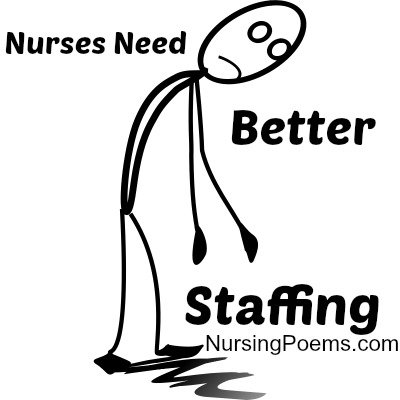 What its like trying to fix terrible Nurses Staffing: